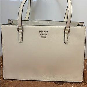 DKNY real leather handbag NWT